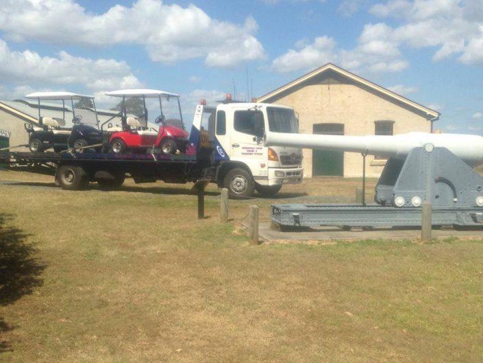 Towing Golf Carts