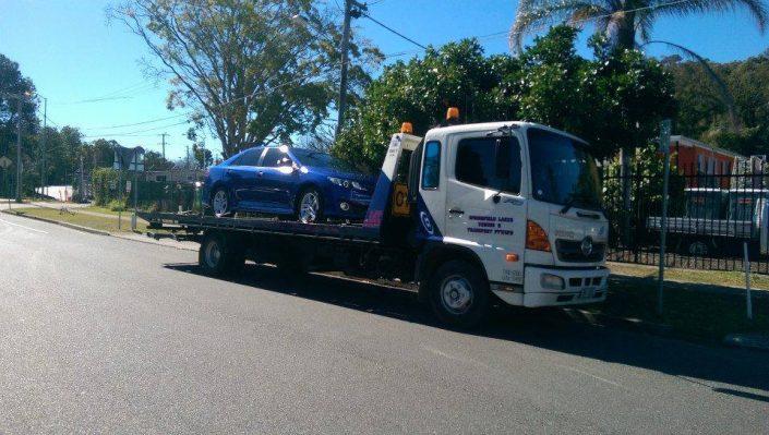 Towing Car Crash