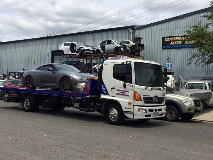 Towing Super Cars