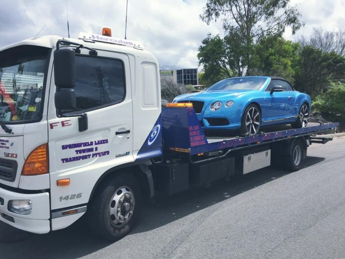 Towing Luxury Cars