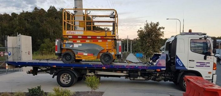 Towing Sizzor Lifts