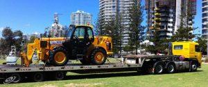 Towing Bulldozer