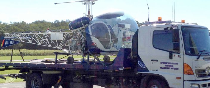 Towing and Transport of Helicopters
