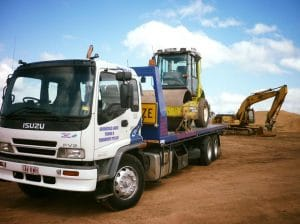 towing service heavy haulage machinery