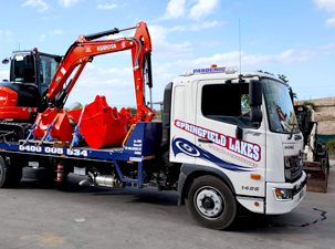 towing heavy equipment in brisbane